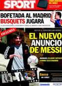 Portada diario Sport del 17 de Mayo de 2011