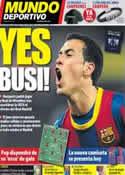 Portada Mundo Deportivo del 17 de Mayo de 2011