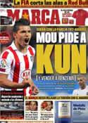Portada diario Marca del 18 de Mayo de 2011