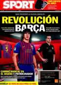 Portada diario Sport del 18 de Mayo de 2011