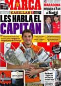 Portada diario Marca del 19 de Mayo de 2011