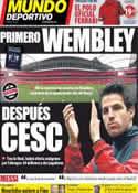 Portada Mundo Deportivo del 19 de Mayo de 2011