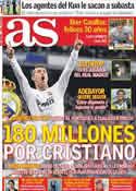 Portada diario AS del 20 de Mayo de 2011