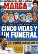 Portada diario Marca del 21 de Mayo de 2011