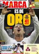 Portada diario Marca del 22 de Mayo de 2011