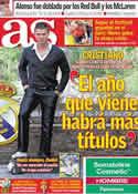 Portada diario AS del 23 de Mayo de 2011