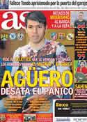 Portada diario AS del 24 de Mayo de 2011