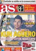 Portada diario AS del 25 de Mayo de 2011