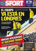 Portada diario Sport del 25 de Mayo de 2011