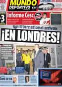 Portada Mundo Deportivo del 25 de Mayo de 2011