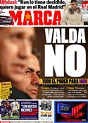 Portada diario Marca del 26 de Mayo de 2011
