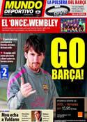 Portada Mundo Deportivo del 26 de Mayo de 2011