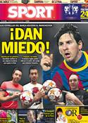 Portada diario Sport del 27 de Mayo de 2011