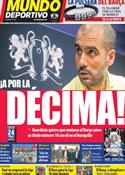 Portada Mundo Deportivo del 27 de Mayo de 2011