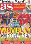 Portada diario AS del 28 de Mayo de 2011