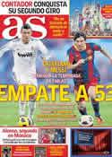 Portada diario AS del 30 de Mayo de 2011