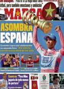 Portada diario Marca del 30 de Mayo de 2011