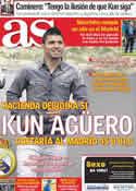 Portada diario AS del 31 de Mayo de 2011