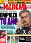 Portada diario Marca del 31 de Mayo de 2011