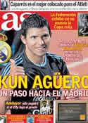 Portada diario AS del 2 de Junio de 2011