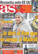 Portada diario AS del 4 de Junio de 2011
