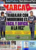 Portada diario Marca del 4 de Junio de 2011