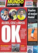Portada Mundo Deportivo del 4 de Junio de 2011