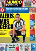 Portada Mundo Deportivo del 5 de Junio de 2011