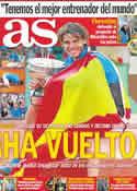 Portada diario AS del 6 de Junio de 2011