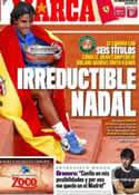Portada diario Marca del 6 de Junio de 2011