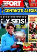 Portada diario Sport del 6 de Junio de 2011