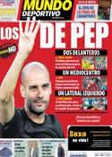Portada Mundo Deportivo del 7 de Junio de 2011