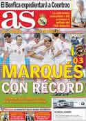 Portada diario AS del 8 de Junio de 2011