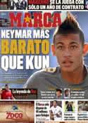 Portada diario Marca del 9 de Junio de 2011