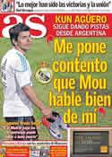 Portada diario AS del 10 de Junio de 2011