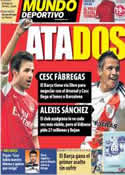 Portada Mundo Deportivo del 10 de Junio de 2011