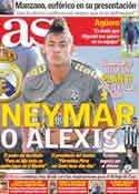 Portada diario AS del 11 de Junio de 2011