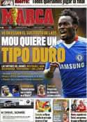 Portada diario Marca del 12 de Junio de 2011