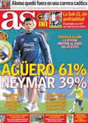 Portada diario AS del 13 de Junio de 2011
