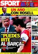 Portada diario Sport del 13 de Junio de 2011