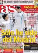 Portada diario AS del 14 de Junio de 2011