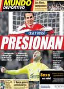 Portada Mundo Deportivo del 14 de Junio de 2011