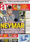 Portada diario AS del 16 de Junio de 2011