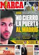 Portada diario Marca del 16 de Junio de 2011