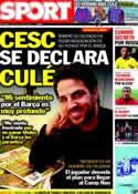 Portada diario Sport del 16 de Junio de 2011