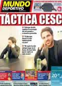 Portada Mundo Deportivo del 16 de Junio de 2011