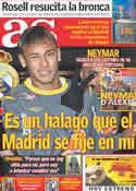 Portada diario AS del 17 de Junio de 2011
