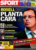 Portada diario Sport del 17 de Junio de 2011