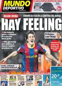 Portada Mundo Deportivo del 18 de Junio de 2011