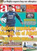 Portada diario AS del 19 de Junio de 2011